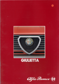 Giulietta brochure, 22 pages, 03/1984, # 313, German