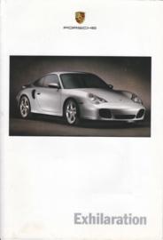 Program brochure 2001 1st ed, 16 pages, printed 2000, USA, English