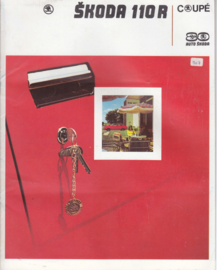 110 R Coupé brochure, 16 pages, Dutch language, about 1980