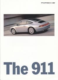 911 (993) brochure, 16 pages, 10/95, English (USA)