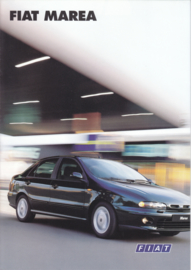 Marea Sedan brochure, 8 pages (A4), 09/1996, Dutch language