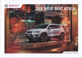 Ateca brochure, 52 pages, 07/2016, German language