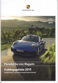 911 Service Magazin - Spring brochure, 32 pages, 01/2019, German language