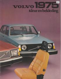 Colour & upholstery brochure, 6 pages, Dutch language, 1975