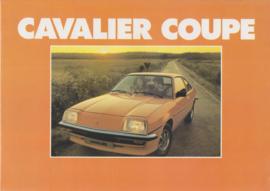 Cavalier Coupe, 4 pages, Dutch language, about 1979