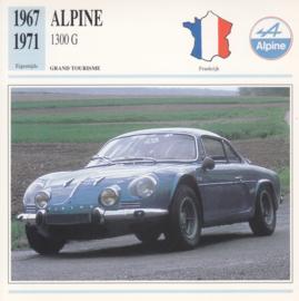 Alfpine 1300 G card, Dutch language, D5 019 01-03