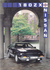 180 ZX brochure, 8 pages, 08/1987, Swedish language