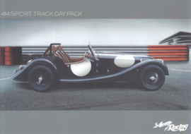 4/4 Sport track day pack leaflet, 2 pages, DIN A5-size, English language