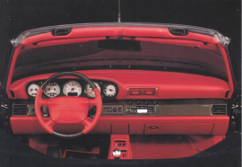 Tequipment - 911 dashboard postcard,  DIN A6-size, issued mid 1990s