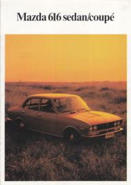 616 Sedan & Coupé brochure, 8 pages, about 1972, Dutch language