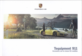 911 Carrera Tequipment brochure, 72 pages, 09/2015, Dutch