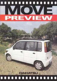 Move preview brochure, 6 pages, 1997, A4-size, Dutch language