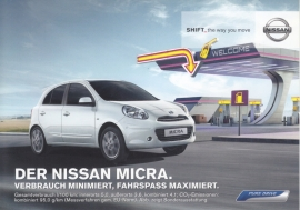 Micra DIG-S postcard,  DIN A6-size, about 2014, German language
