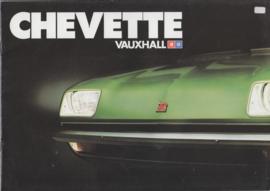 Chevette model range, 18 pages, Dutch language, about 1979