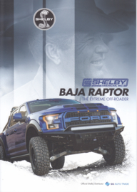 Baja Raptor Pick-Up, 4 pages, A4-size, 2017, English language, Dutch export issue