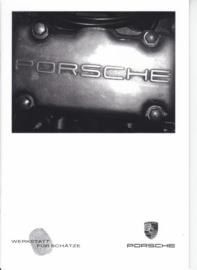 Porsche Center Willich brochure, 12 pages, about 2010, German language