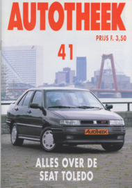 issue # 41, Seat Toledo, 32 pages, 9/1991, Dutch language