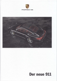 911 Carrera brochure, 182 pages, 04/2008, hard covers, German