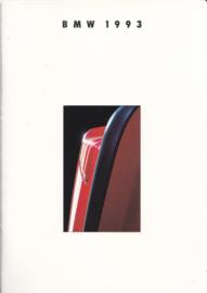 Program 1993 brochure, 38 pages, A5-size, 2/1992, German language