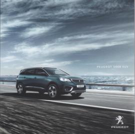 5008 SUV brochure, 48 pages, Dutch language, 03/2017