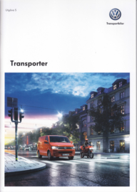 Transporter brochure, A4-size, 40 pages, 10/2013, Swedish language
