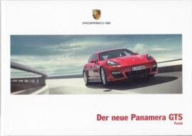 Panamera GTS brochure, 52 pages, 08/2011, hard covers, German