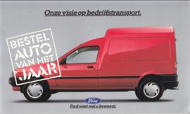 Commercials brochure, 20 pages, Dutch language, about 1995