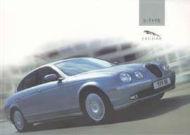 S-Type Saloon brochure, 52 pages, 2004, Dutch language