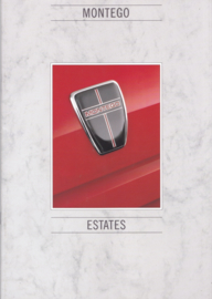 Montego Estates brochure, 16 pages, A4-size, about 1987, Dutch language