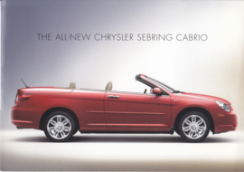 Sebring Convertible CC  brochure, 8 pages, Europe,  2007, 3 languages
