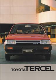 Tercel brochure, 40 pages, 10/1982, Dutch language