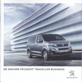 Traveller Business brochure, 20 pages, Dutch language, 08/2016
