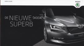 Superb new model brochure, 20 pages, Dutch language, 2015