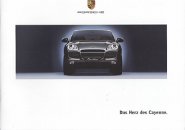 Cayenne introduction brochure, 24 pages, 04/2002, German