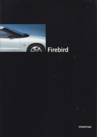 Firebird 1995, 20 page folder, Dutch language