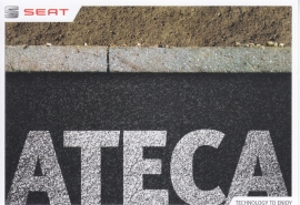 Ateca postcard, DIN A6-size, German, 2016. # AC10210