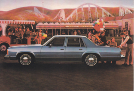 Delta 88 Sedan, US postcard, larger size, 1978