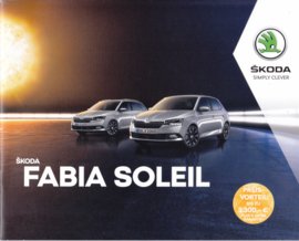 Fabia Soleil brochure, 24 pages, German language, 11/2018