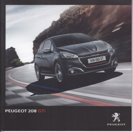 208 GTI brochure, 28 pages, Dutch language, 06/2015