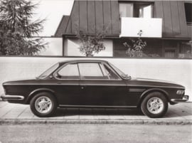 BMW 2800 CS - 1969 - German text on the reverse