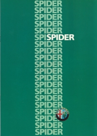 Spider 2.0 brochure, 20 pages, 05/1986, # 210, German