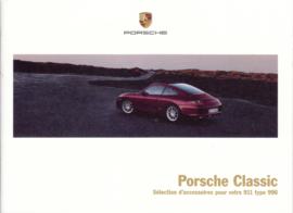Classic 996 accessories brochure, 16 pages, 07/17, French