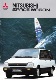 Space Wagon brochure, 12 pages, 01/1987, Dutch language