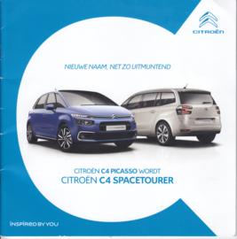C4 Spacetourer brochure, 40 pages, 04/2018, Dutch language