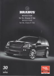 Brabus tuning GL-Class brochure. 8 pages, 9/2007, German/English language