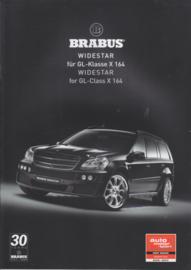 Brabus tuning GL-Class brochure. 8 pages, 9/2007, German/English language