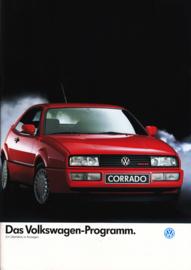 Program brochure, 24 pages,  A4-size, German language, 11/1988