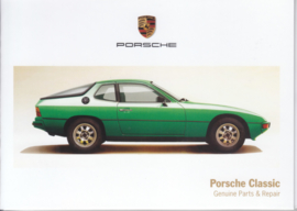 Porsche Classic with 52.000 parts, memory stick with pictures, factory-issued,  German/English/French