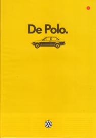 Polo Classic 2-door brochure, A4-size, 20 pages, 01/1985, Dutch language