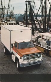 GMC Truck, US postcard, standard size, about 1975